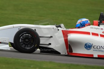 World © Octane Photographic Ltd. BRDC Formula 4 (F4) Championship, Silverstone, April 27th 2013. MSV F4-013, Lanan Racing, Jake Hughes. Digital Ref : 0642lw7d7158