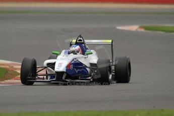 World © Octane Photographic Ltd. BRDC Formula 4 (F4) Championship, Silverstone, April 27th 2013. MSV F4-013, Mark Goodwin Racing, Jake Dalton. Digital Ref : 0642lw7d7186