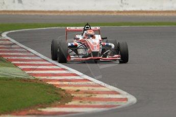World © Octane Photographic Ltd. BRDC Formula 4 (F4) Championship, Silverstone, April 27th 2013. MSV F4-013, HHC Motorsport, Raoul Hyman. Digital Ref : 0642lw7d7287