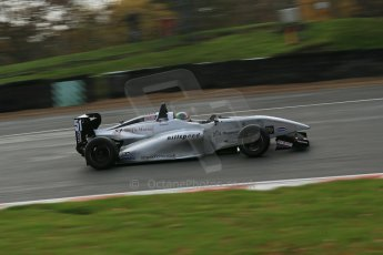 World © Octane Photographic Ltd. Brands Hatch, Qualifying, Sunday 24th November 2013. BRDC Formula 4 Winter Series, MSV F4-13,  – Kieran Vernon - Hillspeed. Digital Ref : 0866lw1d7165