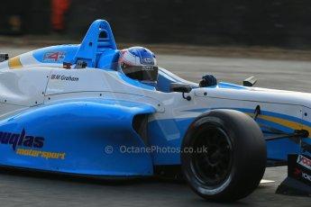 World © Octane Photographic Ltd. Brands Hatch, Qualifying, Sunday 24th November 2013. BRDC Formula 4 Winter Series, MSV F4-13, Matthew (Matty) Graham – Douglas Motorsport. Digital Ref : 0866lw1d7188