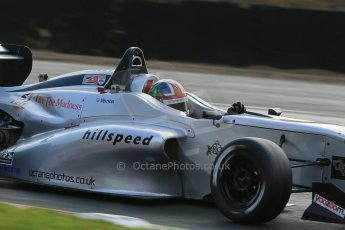 World © Octane Photographic Ltd. Brands Hatch, Qualifying, Sunday 24th November 2013. BRDC Formula 4 Winter Series, MSV F4-13,  – Kieran Vernon - Hillspeed. Digital Ref : 0866lw1d7221