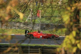 World © Octane Photographic Ltd. Brands Hatch, Qualifying, Sunday 24th November 2013. BRDC Formula 4 Winter Series, MSV F4-13, Frederick Johansen – Chris Dittmann Racing (CDR). Digital Ref : 0866lw1d7311