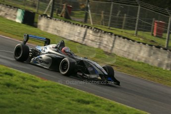 World © Octane Photographic Ltd. Brands Hatch, Qualifying, Sunday 24th November 2013. BRDC Formula 4 Winter Series, MSV F4-13, Falco Wauer – Enigma Motorsport. Digital Ref : 0866lw1d7430