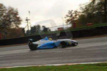 World © Octane Photographic Ltd. Brands Hatch, Qualifying, Sunday 24th November 2013. BRDC Formula 4 Winter Series, MSV F4-13, Malgosia Rdest – Douglas Motorsport. Digital Ref : 0866lw7d4348