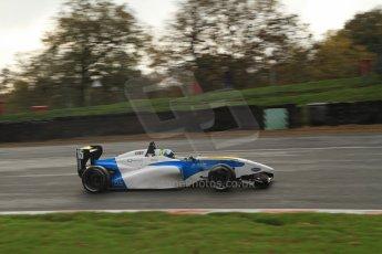 World © Octane Photographic Ltd. Brands Hatch, Qualifying, Sunday 24th November 2013. BRDC Formula 4 Winter Series, MSV F4-13, Matteo Ferrer - MGR. Digital Ref : 0866lw7d4366