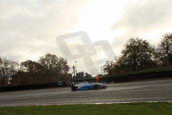 World © Octane Photographic Ltd. Brands Hatch, Qualifying, Sunday 24th November 2013. BRDC Formula 4 Winter Series, MSV F4-13, Sennan Fielding – HHC Motorsport. Digital Ref : 0866lw7d4389