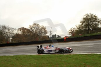 World © Octane Photographic Ltd. Brands Hatch, Qualifying, Sunday 24th November 2013. BRDC Formula 4 Winter Series, MSV F4-13, Will Palmer – HHC Motorsport. Digital Ref : 0866lw7d4398