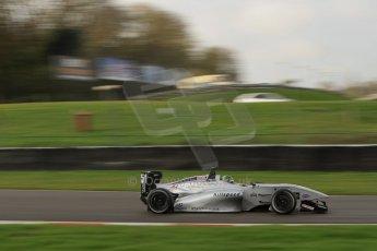 World © Octane Photographic Ltd. Brands Hatch, Qualifying, Sunday 24th November 2013. BRDC Formula 4 Winter Series, MSV F4-13,  – Kieran Vernon - Hillspeed. Digital Ref : 0866lw7d4488