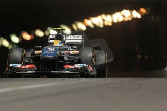World © 2013 Octane Photographic Ltd. F1 Monaco GP, Monte Carlo -Thursday 23rd May 2013 - Practice 2. Sauber C32 - Esteban Gutierrez. Digital Ref : 0694lw1d7707