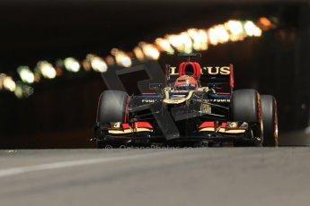 World © 2013 Octane Photographic Ltd. F1 Monaco GP, Monte Carlo -Thursday 23rd May 2013 - Practice 2. Lotus F1 Team E21 - Kimi Raikkonen. Digital Ref : 0694lw1d7755