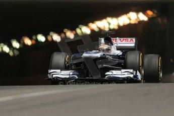 World © 2013 Octane Photographic Ltd. F1 Monaco GP, Monte Carlo -Thursday 23rd May 2013 - Practice 2. Williams FW35 - Pastor Maldonado. Digital Ref : 0694lw1d7831