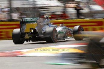World © 2013 Octane Photographic Ltd. F1 Monaco GP, Monte Carlo -Thursday 23rd May 2013 - Practice 2. Mercedes AMG Petronas F1 W04 – Lewis Hamilton. Digital Ref : 0694lw7d7678