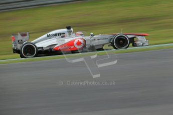 World © Octane Photographic Ltd. F1 German GP - Nurburgring. Friday 5th July 2013 - Practice One. Vodafone McLaren Mercedes MP4/28 - Jenson Button. Digital Ref : 0739lw1d3472