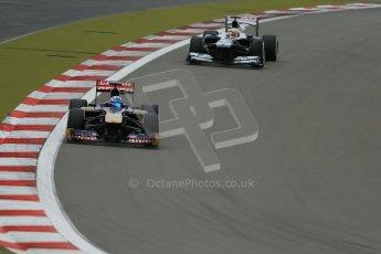 World © Octane Photographic Ltd. F1 German GP - Nurburgring. Friday 5th July 2013 - Practice Two. Scuderia Toro Rosso STR8 - Jean-Eric Vergne. Digital Ref : 0741lw1d4270