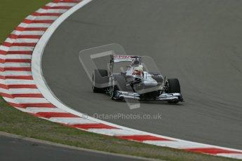 World © Octane Photographic Ltd. F1 German GP - Nurburgring. Friday 5th July 2013 - Practice Two. Williams FW35 - Pastor Maldonado. Digital Ref : 0741lw1d4276