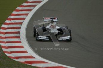 World © Octane Photographic Ltd. F1 German GP - Nurburgring. Friday 5th July 2013 - Practice Two. Williams FW35 - Pastor Maldonado. Digital Ref : 0741lw1d4301