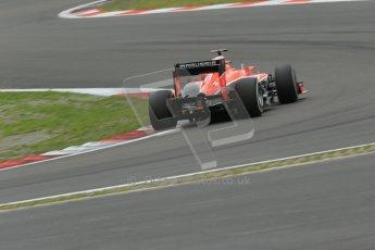 World © Octane Photographic Ltd. F1 German GP - Nurburgring. Friday 5th July 2013 - Practice two. Marussia F1 Team MR02 - Jules Bianchi. Digital Ref : 0741lw1d4404