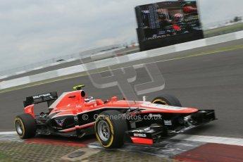 World © Octane Photographic Ltd. F1 German GP - Nurburgring. Friday 5th July 2013 - Practice two. Marussia F1 Team MR02 - Max Chilton. Digital Ref : 0741lw1d4645