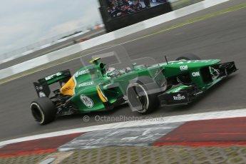 World © Octane Photographic Ltd. F1 German GP - Nurburgring. Friday 5th July 2013 - Practice two. Caterham F1 Team CT03 - Giedo van der Garde. Digital Ref : 0741lw1d4653