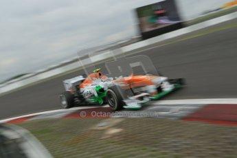 World © Octane Photographic Ltd. F1 German GP - Nurburgring. Friday 5th July 2013 - Practice two. Sahara Force India VJM06 - Adrian Sutil. Digital Ref : 0741lw1d4695