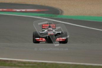 World © Octane Photographic Ltd. F1 German GP - Nurburgring. Friday 5th July 2013 - Practice Two. Vodafone McLaren Mercedes MP4/28 - Jenson Button. Digital Ref : 0741lw1d4933