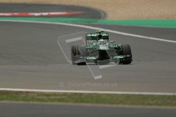 World © Octane Photographic Ltd. F1 German GP - Nurburgring. Friday 5th July 2013 - Practice two. Caterham F1 Team CT03 - Giedo van der Garde. Digital Ref : 0741lw1d4947