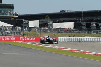World © Octane Photographic Ltd. F1 German GP - Nurburgring. Sunday 7th July 2013 - Race. Williams FW35 - Valtteri Bottas. Digital Ref : 0749lw1d9875