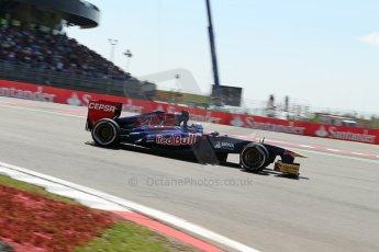 World © Octane Photographic Ltd. F1 German GP - Nurburgring. Sunday 7th July 2013 - Race. Scuderia Toro Rosso STR8 - Jean-Eric Vergne. Digital Ref : 0749lw1dx0095