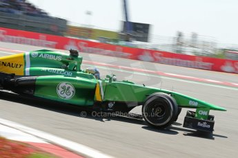 World © Octane Photographic Ltd. F1 German GP - Nurburgring. Sunday 7th July 2013 - Race. Caterham F1 Team CT03 - Charles Pic. Digital Ref : 0749lw1dx0108