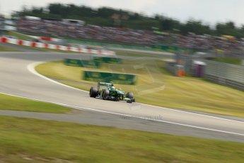 World © Octane Photographic Ltd. F1 German GP - Nurburgring. Saturday 6th July 2013 - Practice three. Caterham F1 Team CT03 - Giedo van der Garde. Digital Ref : 0744lw1d3984