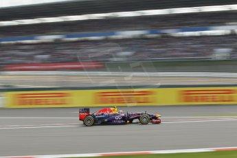 World © Octane Photographic Ltd. F1 German GP - Nurburgring. Saturday 6th July 2013 - Practice three. Infiniti Red Bull Racing RB9 - Mark Webber. Digital Ref : 0744lw1d4308