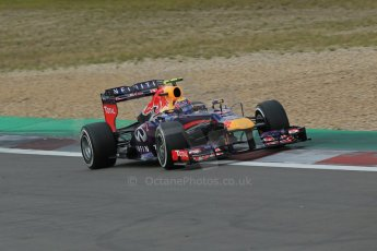 World © Octane Photographic Ltd. F1 German GP - Nurburgring. Saturday 6th July 2013 - Practice three. Infiniti Red Bull Racing RB9 - Mark Webber. Digital Ref : 0744lw1d6272