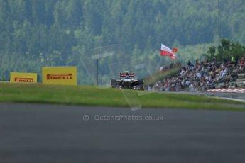World © Octane Photographic Ltd. F1 German GP - Nurburgring. Saturday 6th July 2013 - Practice three. Scuderia Toro Rosso STR 8 - Daniel Ricciardo. Digital Ref : 0744lw1d6490