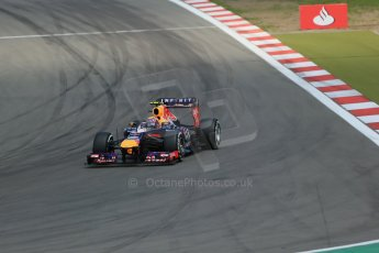 World © Octane Photographic Ltd. F1 German GP - Nurburgring. Saturday 6th July 2013 - Qualifying. Infiniti Red Bull Racing RB9 - Mark Webber. Digital Ref : 0745lw1d7136