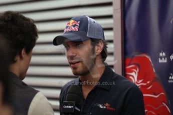 World © Octane Photographic Ltd. F1 German GP - Nurburgring. Thursday 4th July 2013 - Paddock. Scuderia Toro Rosso STR8 - Jean-Eric Vergne. Digital Ref : 0737lw1d3026