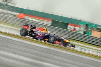 World © Octane Photographic Ltd. F1 British GP - Silverstone, Friday 28th June 2013 - Practice 1. Infiniti Red Bull Racing RB9 - Sebastian Vettel. Digital Ref : 0724ce1d6190