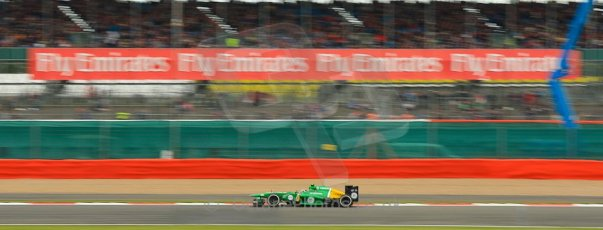 World © Octane Photographic Ltd. F1 British GP - Silverstone, Friday 28th June 2013 - Practice 2. Caterham F1 Team CT03 - Giedo van der Garde. Digital Ref : 0726ce1d7056
