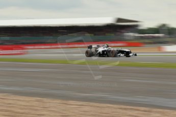 World © Octane Photographic Ltd. F1 British GP - Silverstone, Friday 28th June 2013 - Practice 2. Williams FW35 - Valtteri Bottas. Digital Ref : 0726lw1d0138
