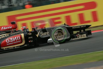 World © Octane Photographic Ltd. F1 British GP - Silverstone, Friday 28th June 2013 - Practice 2. Lotus F1 Team E21 - Kimi Raikkonen. Digital Ref : 0726lw7dx1163