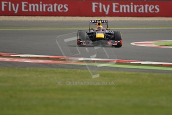 World © Octane Photographic Ltd. F1 British GP - Silverstone, Saturday 29th June 2013 - Practice 3. Infiniti Red Bull Racing RB9 - Mark Webber. Digital Ref : 0729lw1d0556