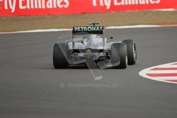World © Octane Photographic Ltd. F1 British GP - Silverstone, Saturday 29th June 2013 - Practice 3. Mercedes AMG Petronas F1 W04 – Lewis Hamilton. Digital Ref : 0729lw1d0710