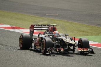 World © Octane Photographic Ltd. F1 British GP - Silverstone, Saturday 29th June 2013 - Qualifying. Lotus F1 Team E21 - Romain Grosjean. Digital Ref : 0730lw1d1042