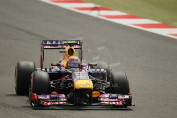 World © Octane Photographic Ltd. F1 British GP - Silverstone, Saturday 29th June 2013 - Qualifying. Infiniti Red Bull Racing RB9 - Mark Webber. Digital Ref : 0730lw1d1429