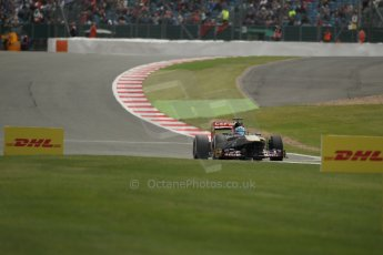 World © Octane Photographic Ltd. F1 British GP - Silverstone, Saturday 29th June 2013 - Qualifying. Scuderia Toro Rosso STR8 - Jean-Eric Vergne. Digital Ref : 0730lw1d1501