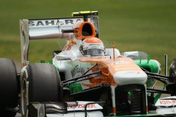 World © Octane Photographic Ltd. F1 British GP - Silverstone, Saturday 29th June 2013 - Qualifying. Sahara Force India VJM06 - Adrian Sutil. Digital Ref : 0730lw1d1546