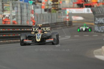 World © Octane Photographic Ltd. World Series by Renault (WSR) Monaco – Monte-Carlo. Lotus – Marlon Stockinger. Saturday 25th May 2013. Digital Ref : 0710lw1d9029
