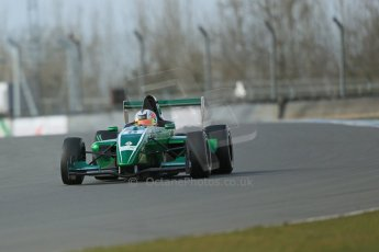 World © Octane Photographic Ltd. 2013 Protyre Formula Renault Championship – Donington Park, Sunday 14th April 2013, Qualifying. Weiron Tan - Fortec Motorsports, Caterham Academy. Digital ref : 0633lw1d3003