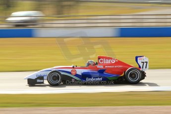 World © Octane Photographic Ltd. 2013 Protyre Formula Renault Championship – Donington Park, Sunday 14th April 2013, Qualifying. Pietro Fittipaldi. Jamun Racing. Digital ref : 0633lw7d4838