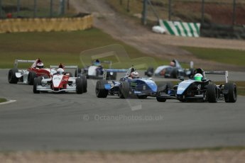 World © Octane Photographic Ltd. 2013 Protyre Formula Renault Championship – Donington Park, Sunday 14th April 2013 - Race 2. Joe Ghanem - MTECH Lite. Digital ref : 0635lw1d3502